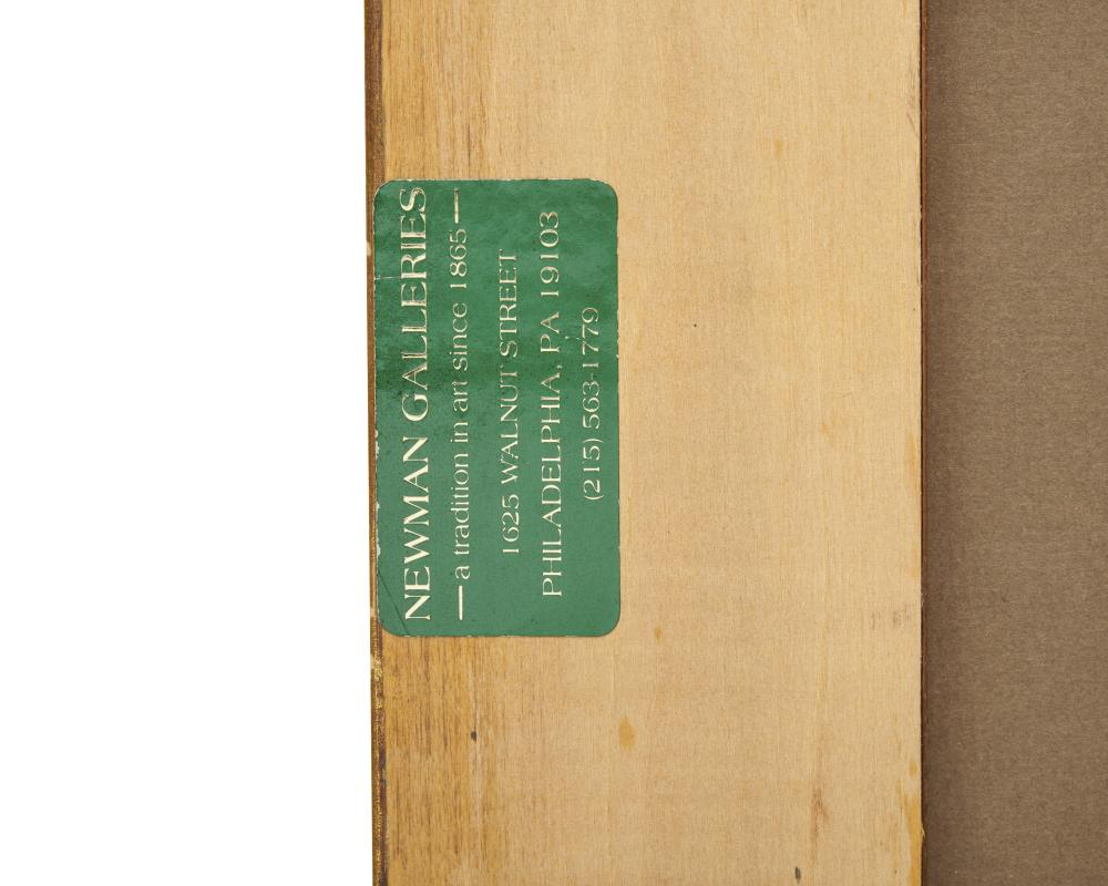 GERTRUDE HORSFORD FISKE, (American, 1879-1961), Ogunquit Sketch, oil on board, 4 x 5 1/2 in., frame: 14 1/2 x 16 1/2 in.