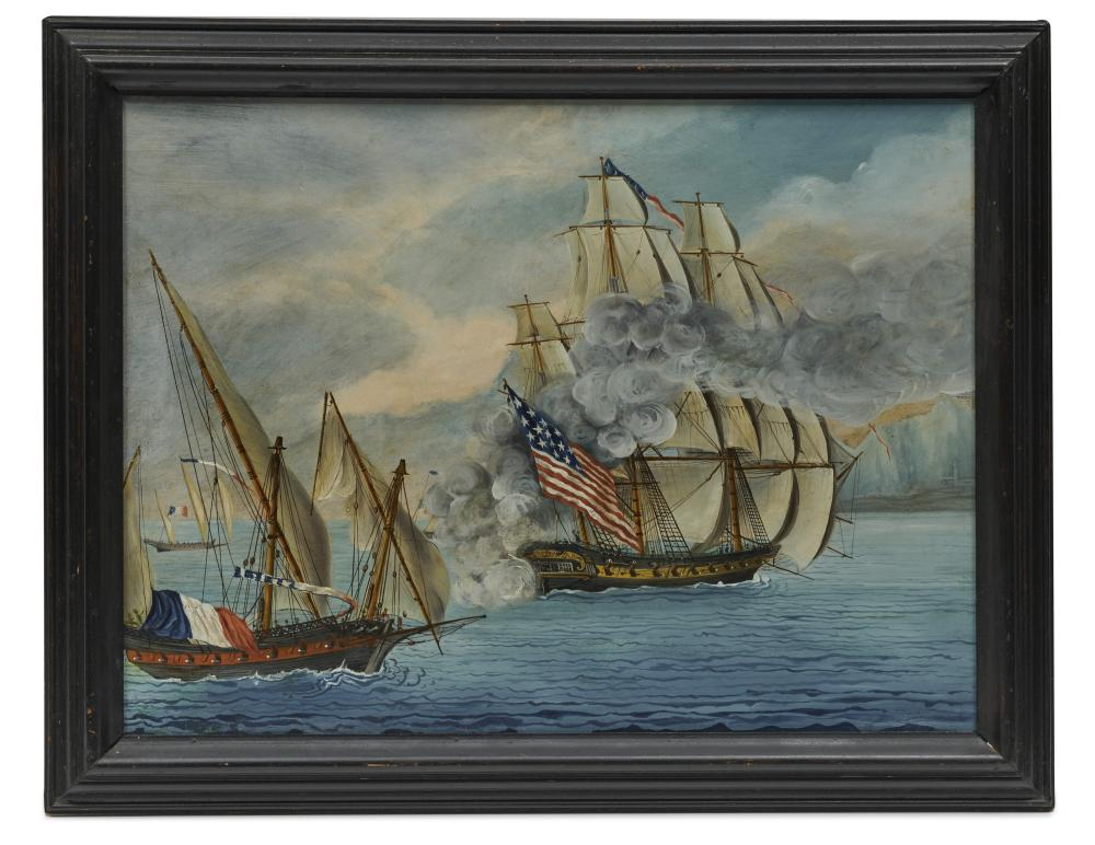 Attributed to MICHELE FELICE CORNE, The Ship