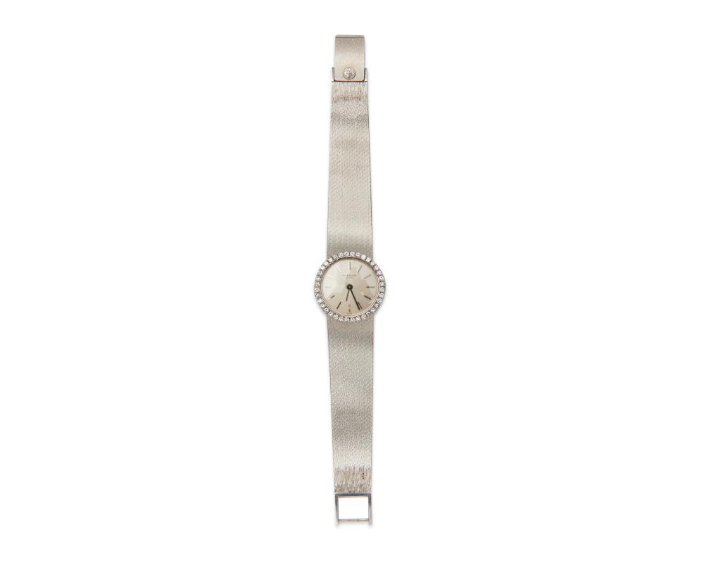 PATEK PHILIPPE 18K Gold and Diamond Wristwatch