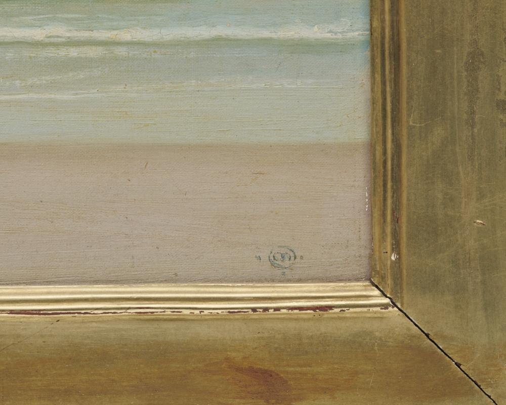 HERMANN DUDLEY MURPHY, (American, 1867-1945), The Surf, oil on artist''s board, 10 x 14 in., frame: 18 3/4 x 22 3/4 in.
