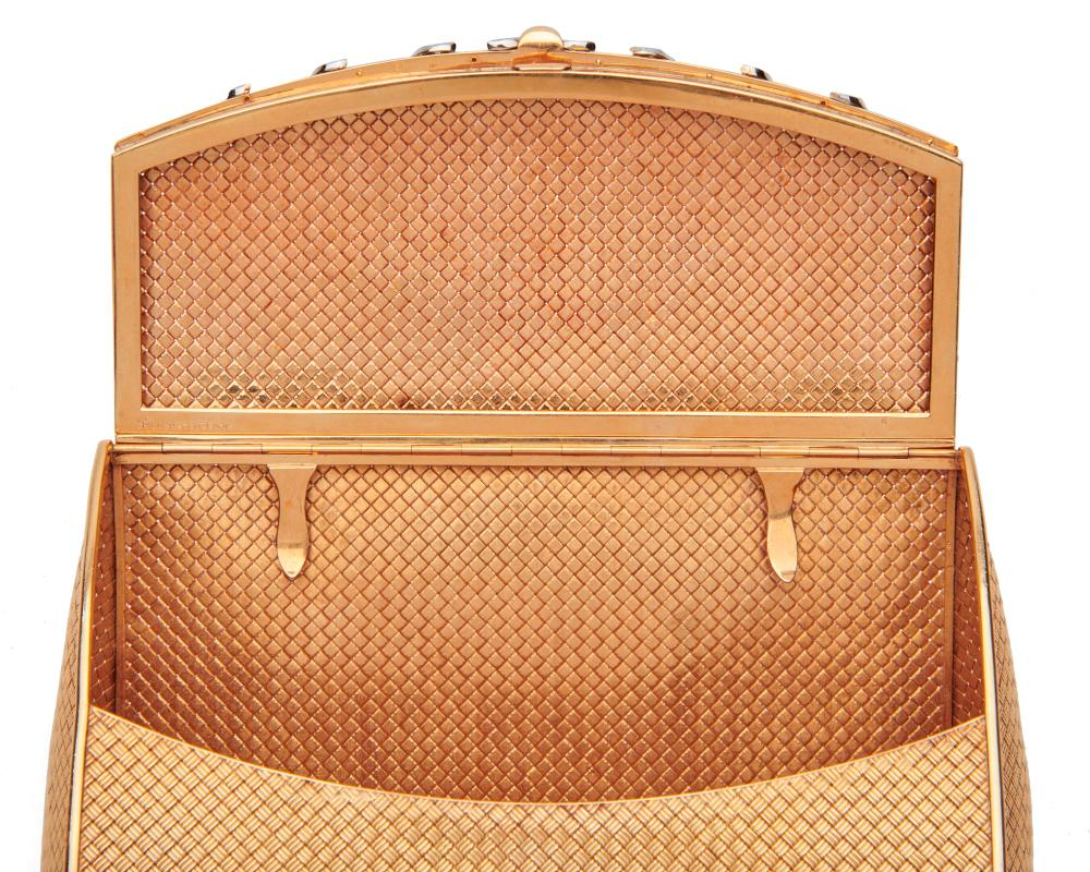 BOUCHERON 18K Gold and Diamond Evening Bag