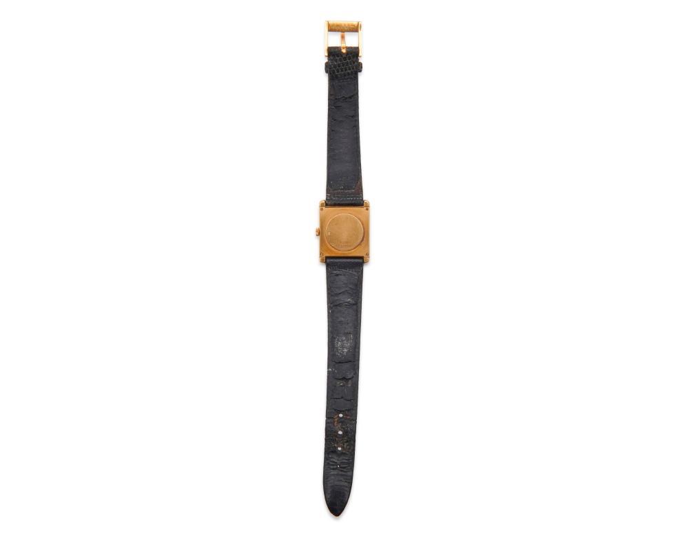 PIAGET 18K Gold and Diamond Wristwatch