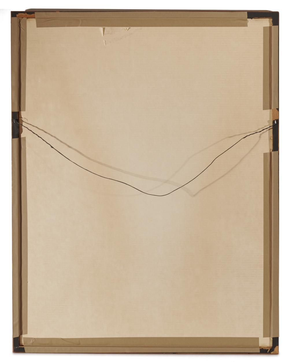 PAVEL TCHELITCHEW, (Russian, 1898-1957), Portrait of Jane Heap, watercolor, sheet: 22 x 17 1/2 in., frame: 37 1/2 x 19 1/2 in.
