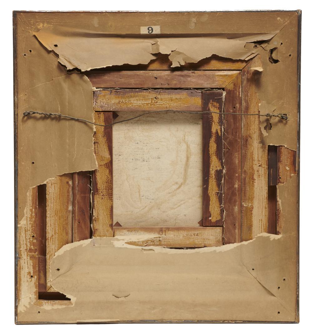MARCUS A. WATERMAN, (American, 1834-1914), Mzabi - Chief of Caravan, oil on canvas, 12 x 10 in., frame: 24 1/2 x 20 1/2 in.