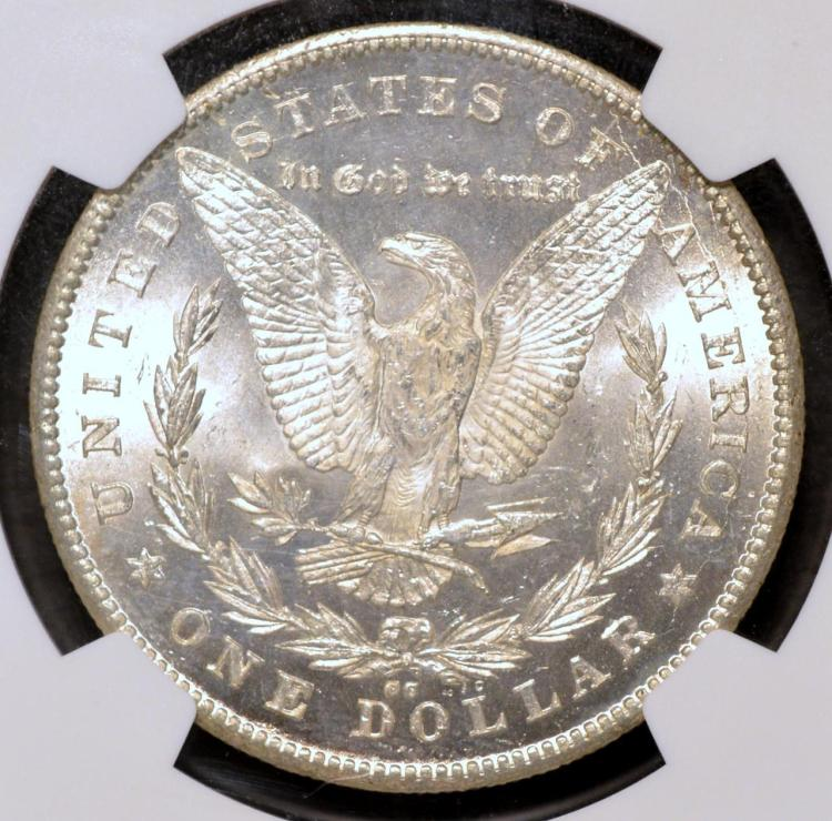 1878 cc morgan silver dollar ngc ms 63 for Gulf coast coin and jewelry