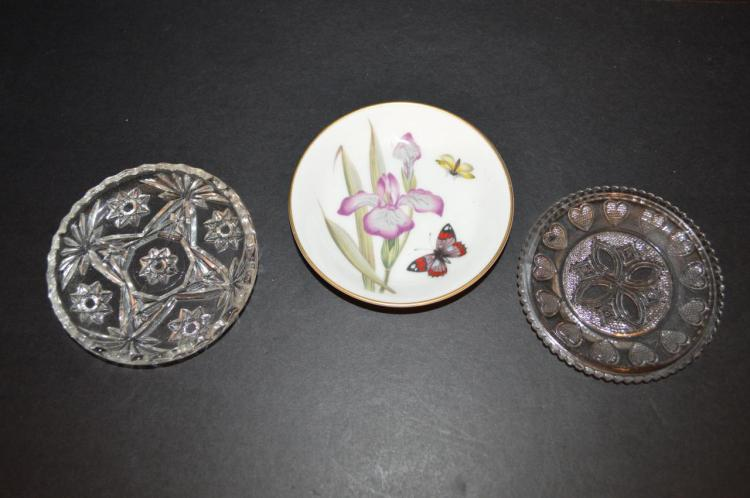 Lot of small dishes for Gulf coast coin and jewelry
