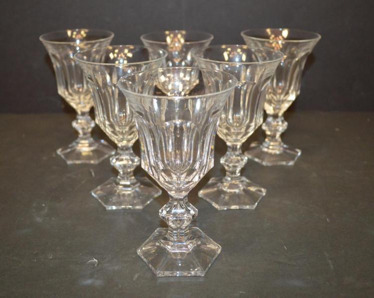 6 villeroy boch crystal wine glasses for Villeroy boch crystal