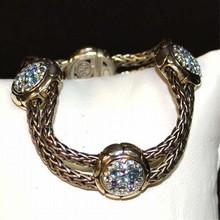 Sterling Topaz Bracelet By John Hardy