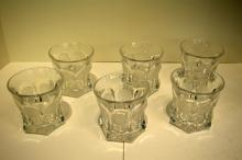 Six Fostoria Old Fashioned Glasses