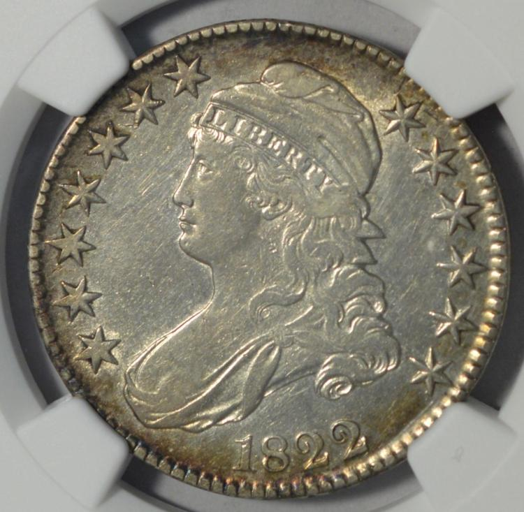 1822 capped bust half dollar ngc xf details i c for Gulf coast coin and jewelry