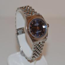 Ladies stainless steel Midsize Rolex Datejust