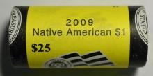 2009-D Native American Sacagawea $1 25 pc. BU Roll