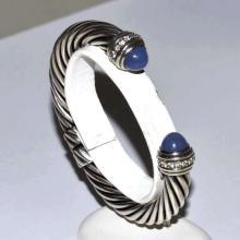 Sterling Diamond Cuff By David Yurman