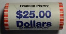 2010 Franklin Pierce Presidential $1 BU Roll