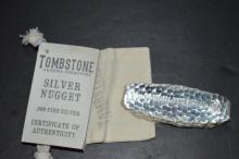 Silver Tombstone Territory Arizona, 10 oz.