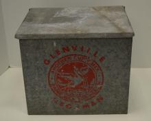 GLENVILLE & HEGEMAN PORCH MILK BOX COOLER