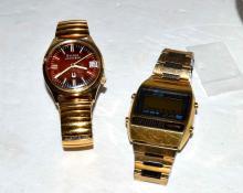 Bulova Accutron & Seiko Digital Watch