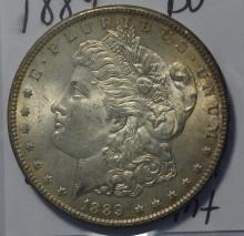 1889 Morgan Silver Dollar BU