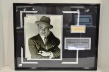 Cut Signature of Edward G. Robinson