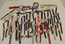 Huge lot of wrist watches