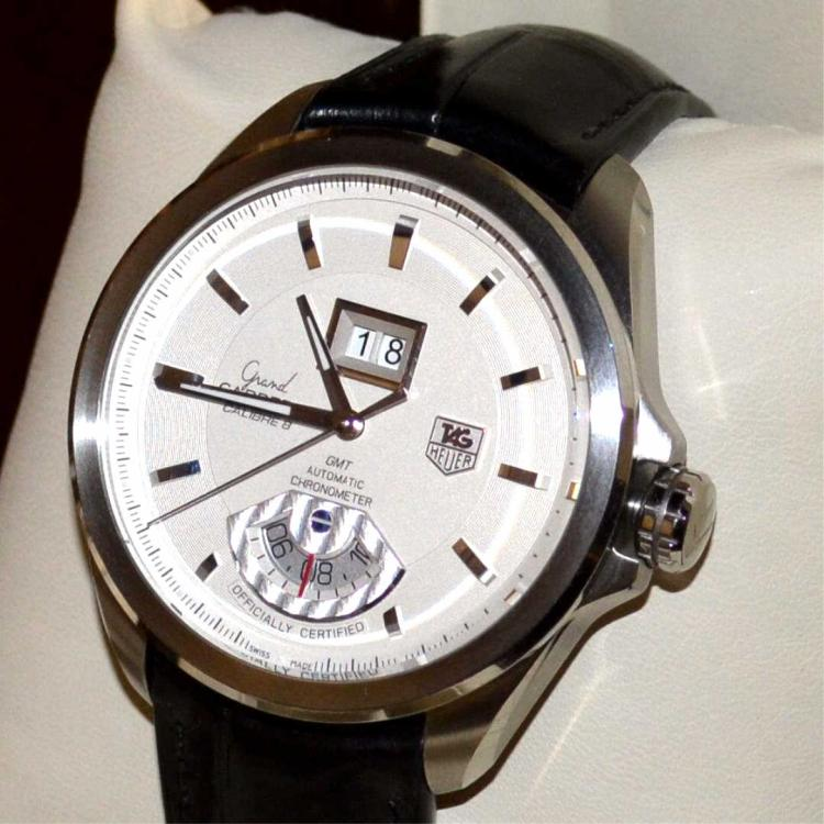 Stainless tag heuer grand carrera calibre 8 watch for Gulf coast coin and jewelry