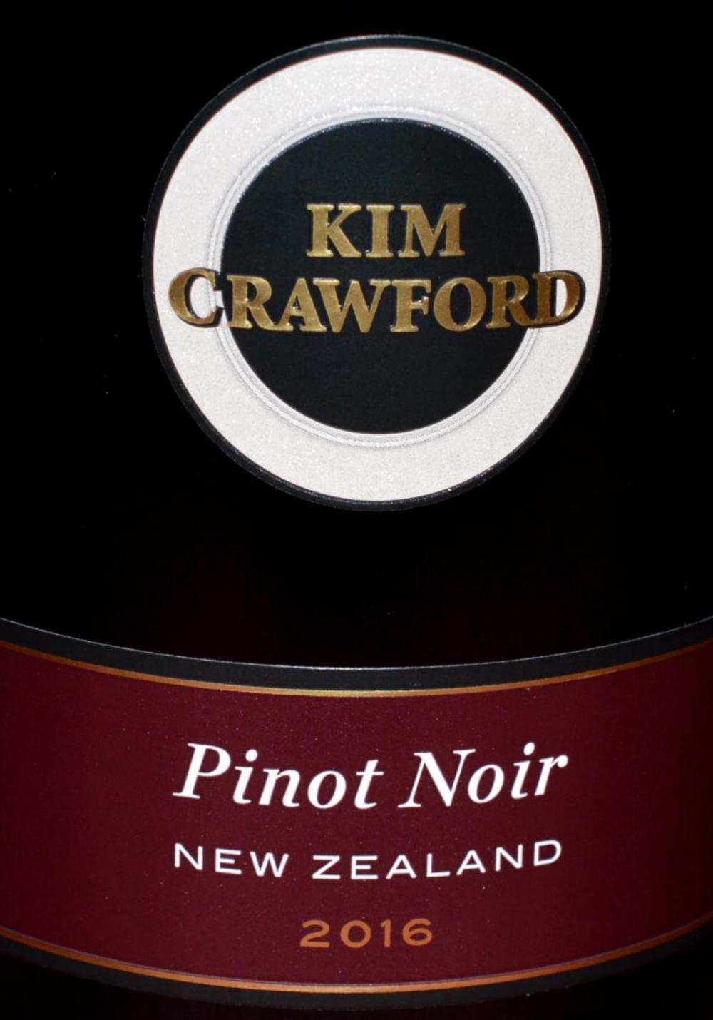 Lot 70C: Kim Crawford Pinot Noir Wine '16 New Zealand 750ml