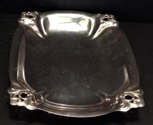 Lot 98: Royal Danish Sterling Silver Vegetable Tray H183-3