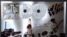"Lot 108: The Who ""The Ultimate Collection"" RIAA Award 2 CDs"