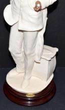 "Lot 119: 1999 Armani ""Afro-American Doctor"" Figurine #1321F"