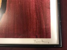 Lot 150: Framed Tarkay Lithograph Print