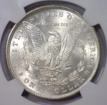 Lot 157X: 1881 Morgan Silver Dollar $1 NGC MS63