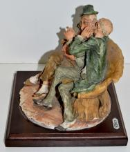 "Lot 166: Signed Armani Figurine Capodimonte ""The Joke"""