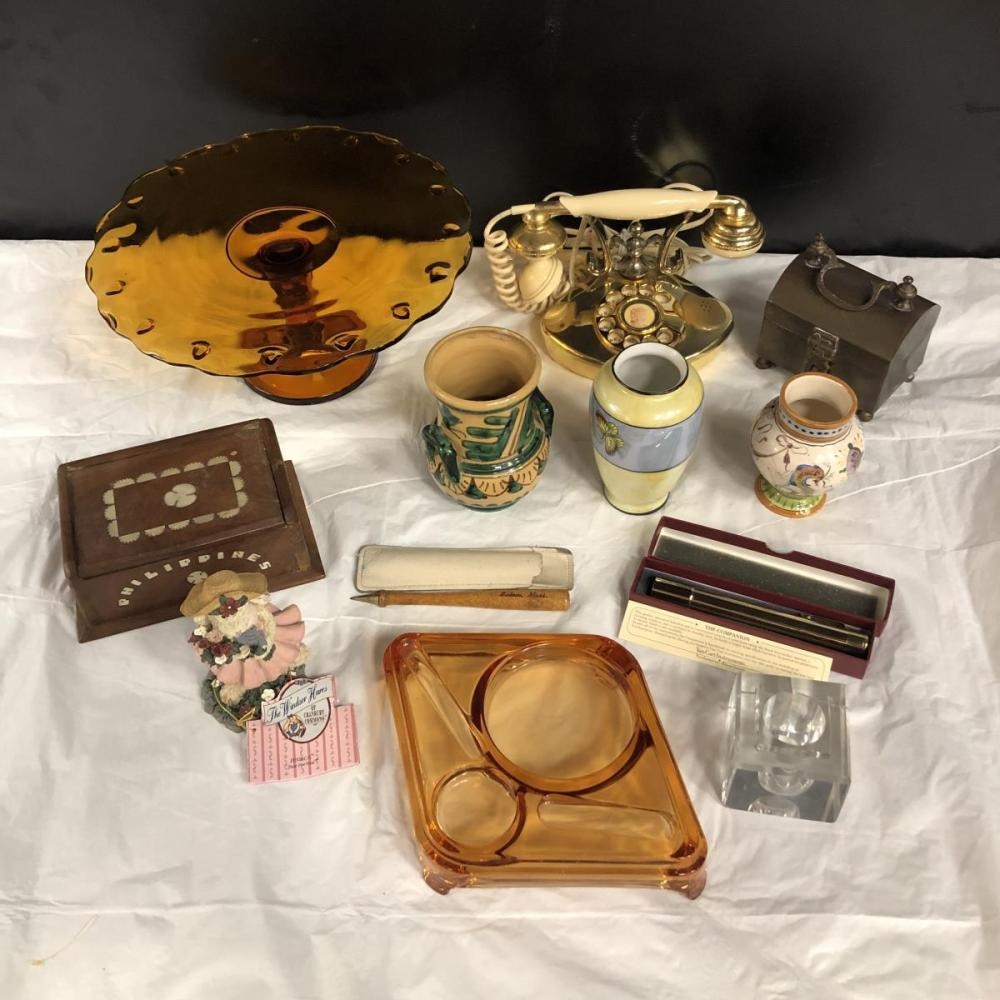 Lot 237: A Large Lot of Eclectic Vintage Collectibles