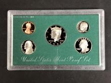 "Lot 236Z: ""The Green Years"" Proof Set Date Run 1994-1998"