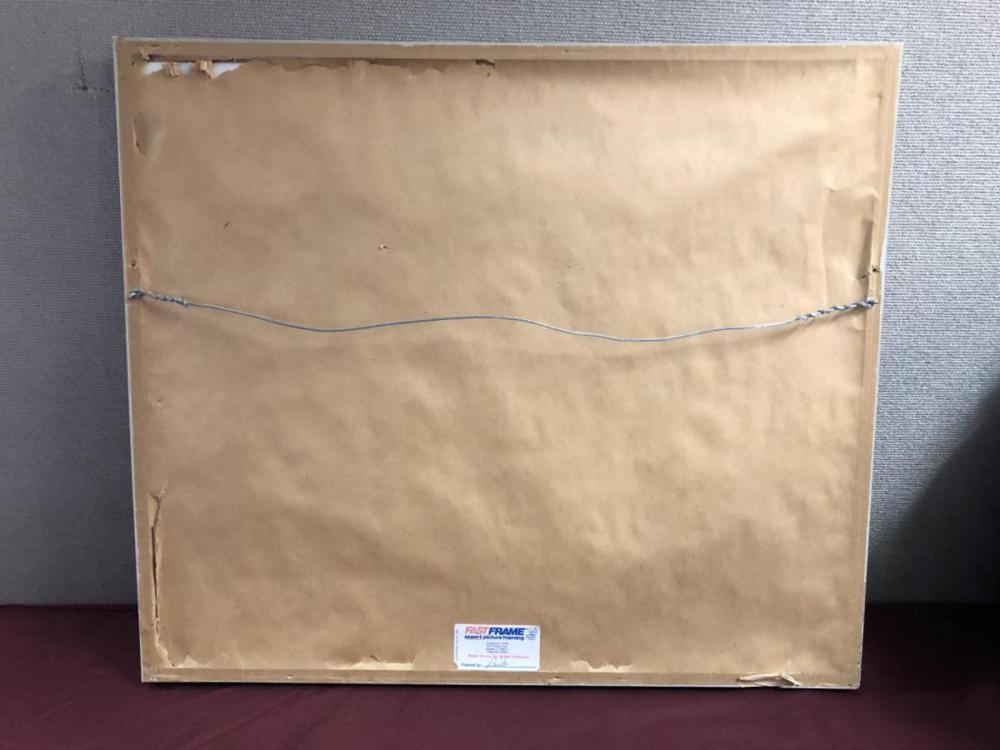 Lot 250: Paper Mache Multi Media Shadowbox Original Artwork