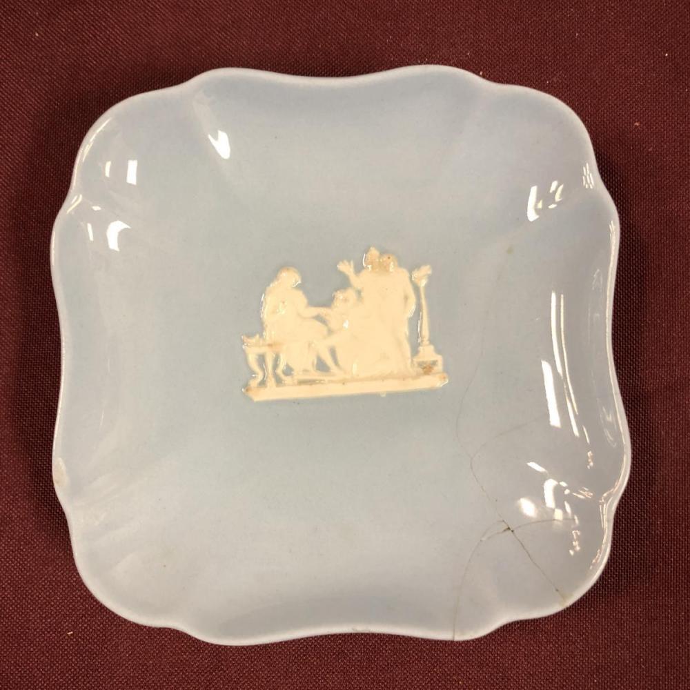 Lot 289: Lot of Blue Vintage Wedgwood Jasperware Stoneware