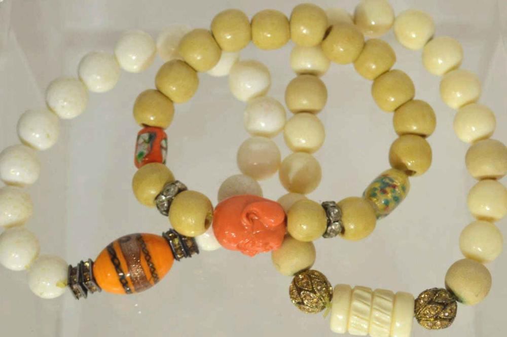 Lot of 3 bead bracelet