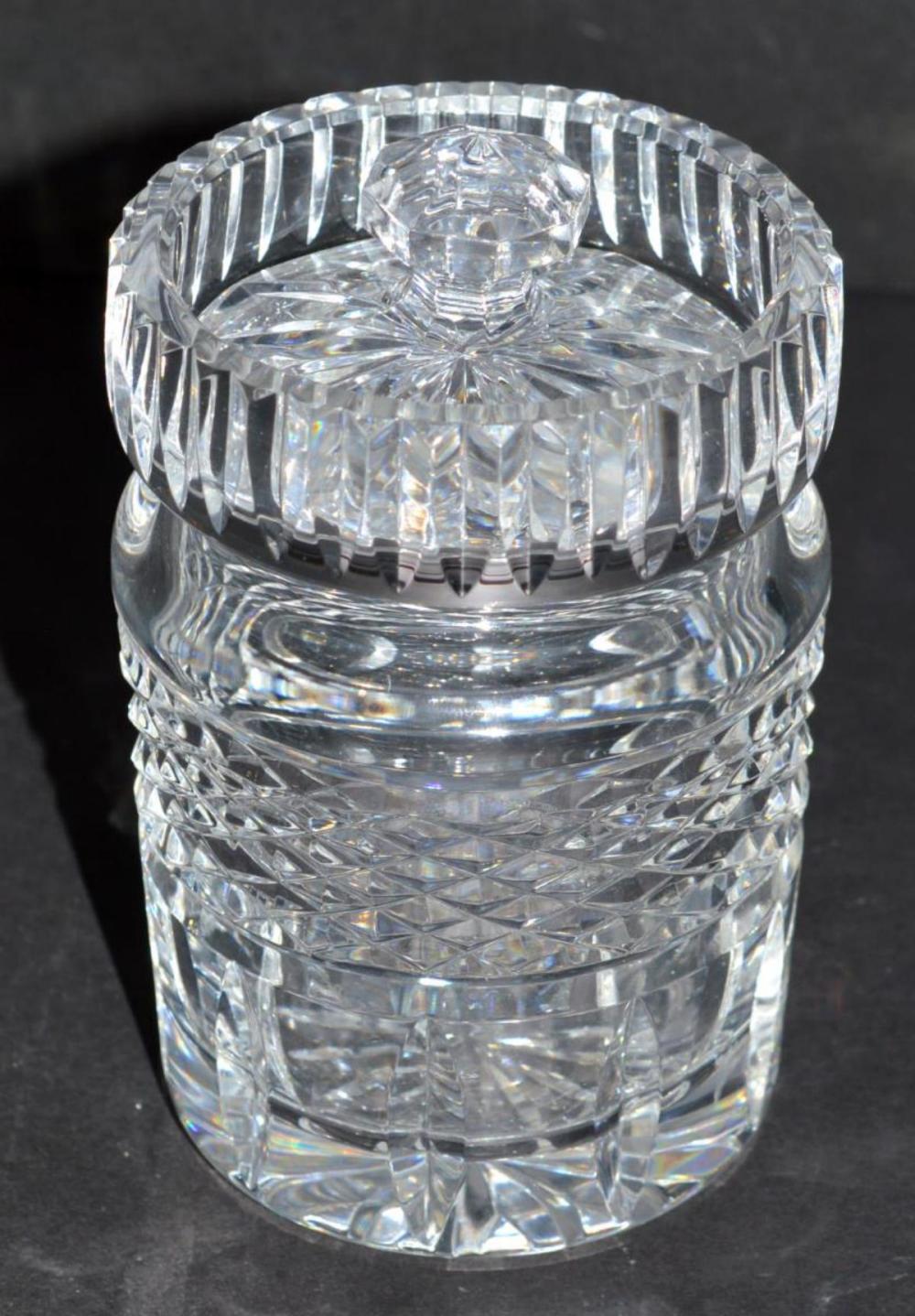 Waterford Jelly Jam Honey Lidded Cut Crystal Jar