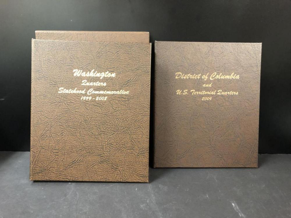 1999-2009 P&D Statehood Quarters & Territory Album