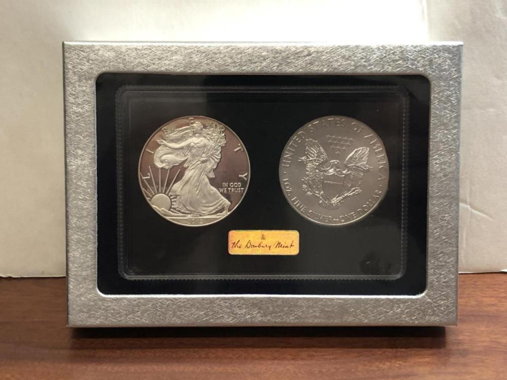 2012 Proof & Uncirculated Silver Eagle Set in Box