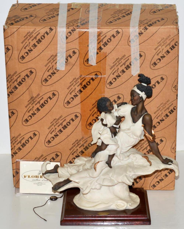 "Armani ""Black Maternity"" Figurine/Sculpture 0502-F"
