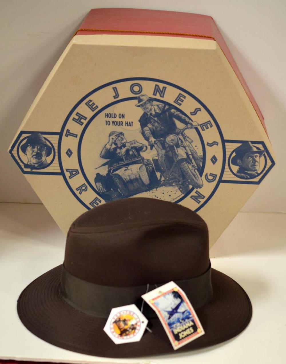 1989 Indiana Jones Stetson Fedora in Original Box