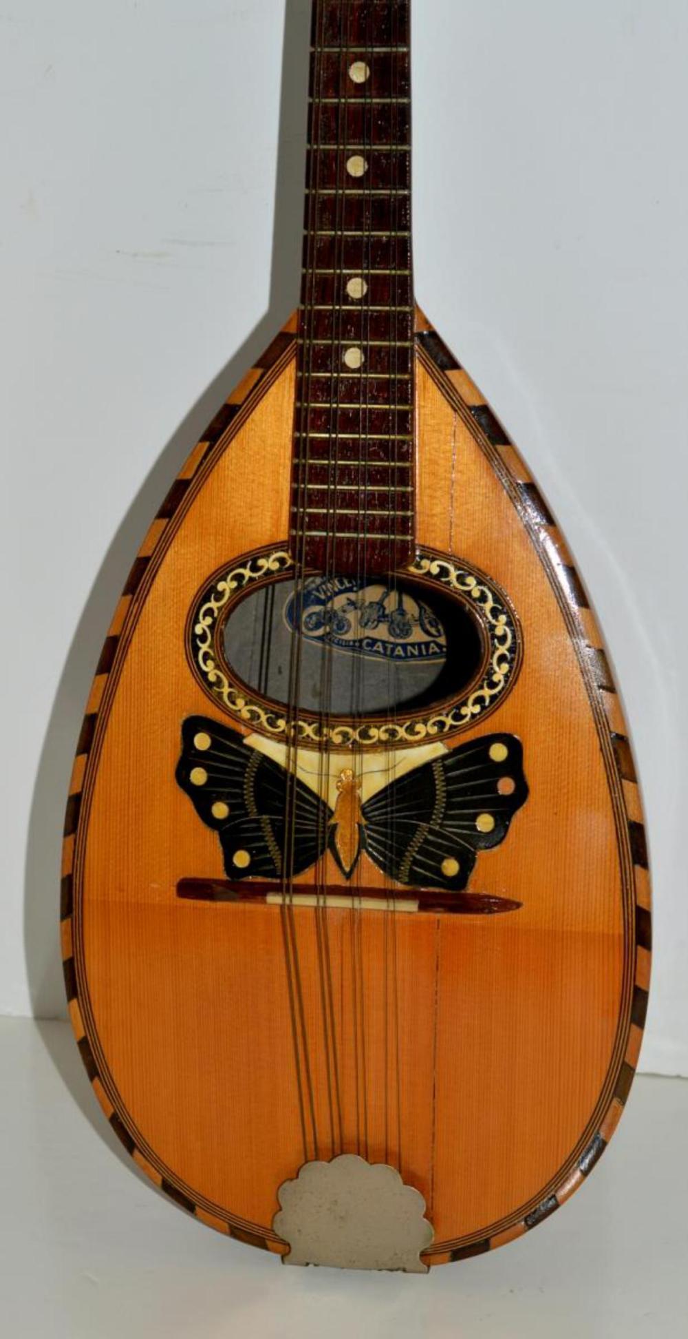 Vincenzo Miroglio & Figli Bowl Back Mandolin Italy