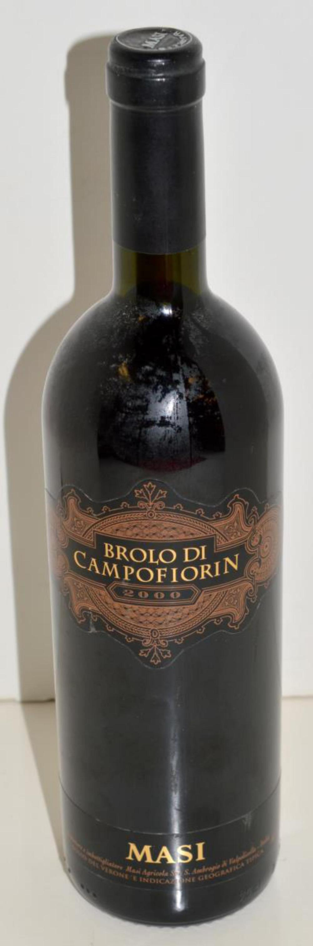 Brolo Di Campofiorin 2000 Masi Wine from Italy