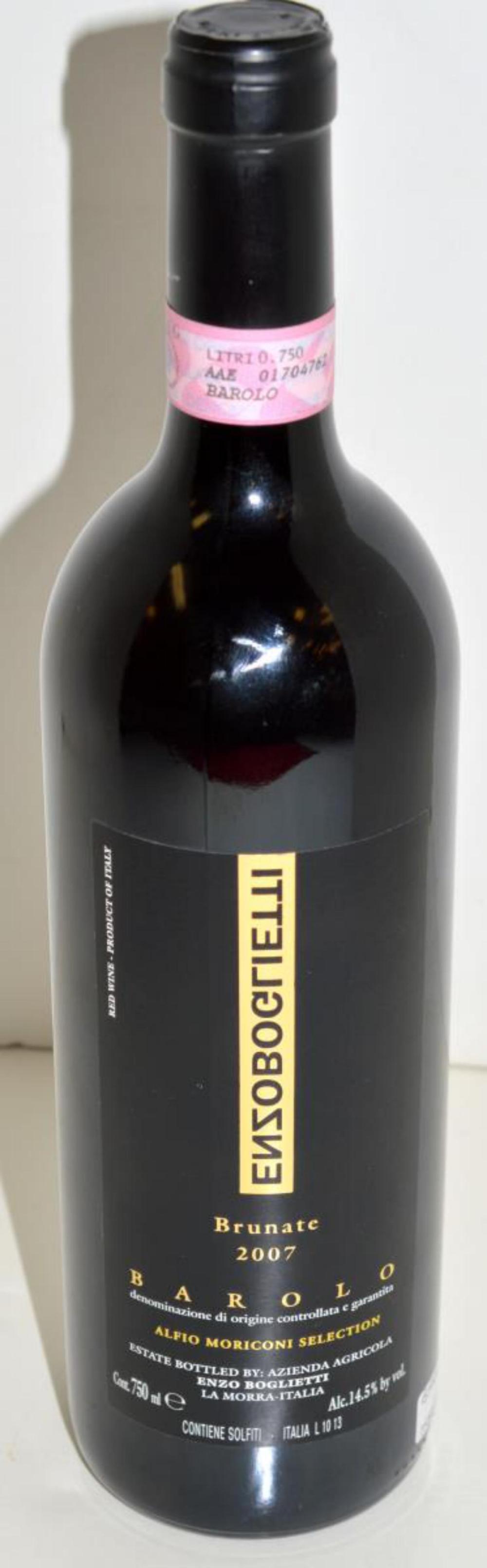 Barolo Brunate 2007 Red Wine Handmade from Italy