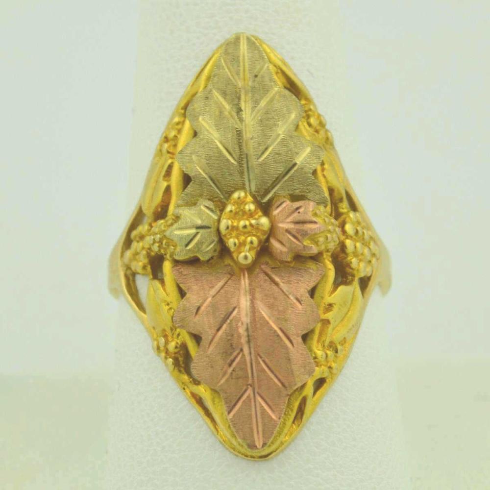 14kt Black Hills Gold fashion ring