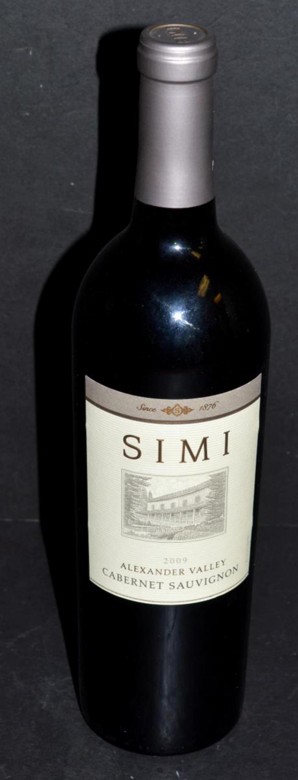 Simi Alexander Valley 2009 Cabernet Sauvignon Wine