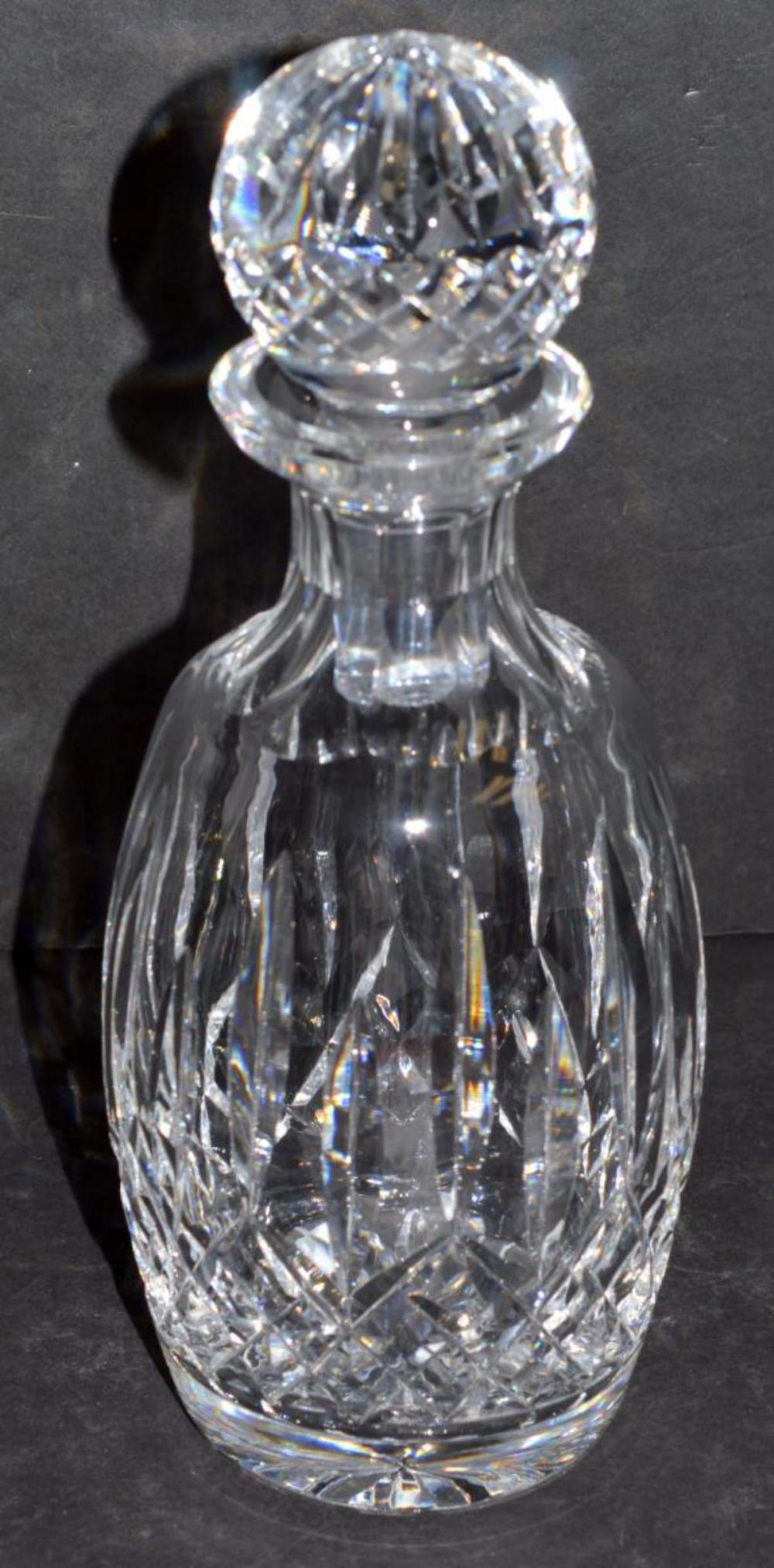 Waterford Lismore Liquor Decanter with Stopper