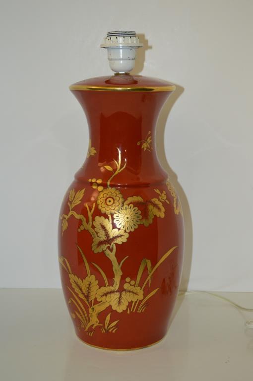 Bernardaud Limoges Lamp