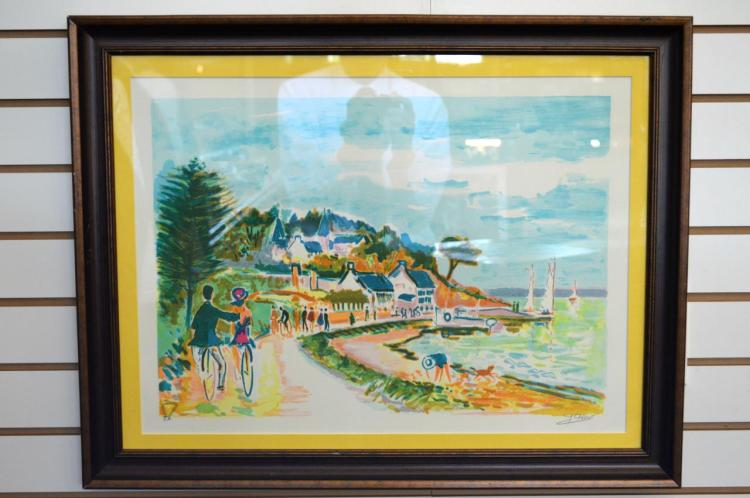 Serigraph Signed By Jean-Claude Picot